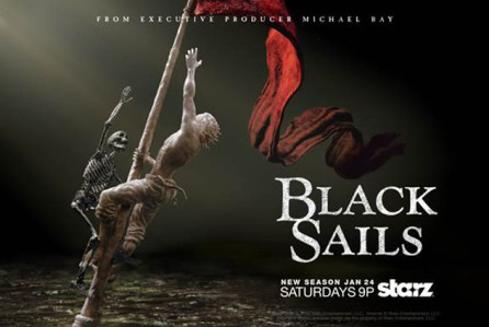 Black Sails promo paoster