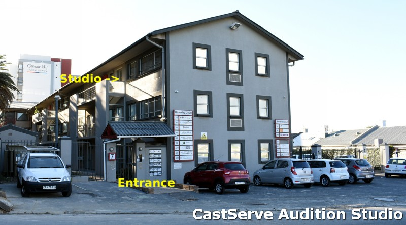 Outside view of CastServe Audition Studio